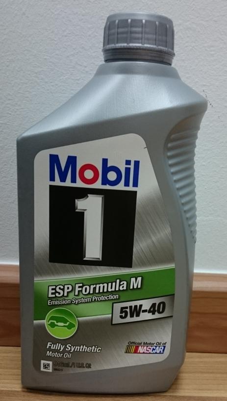 Mobil 1 Esp Formula 5W40