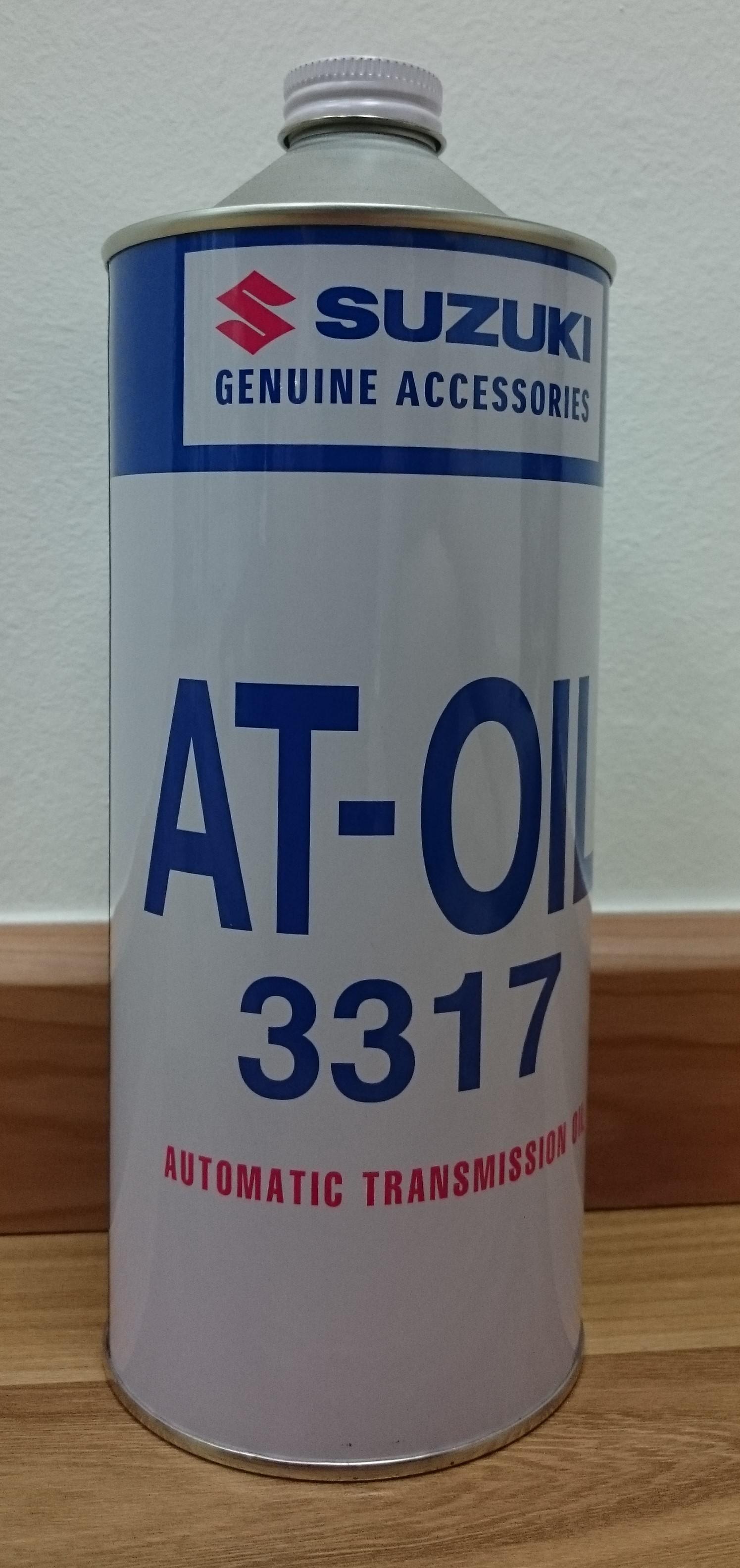 SUZUKI AT-OIL 3317 / AUTO TRANSMISSION FLUID ~ 1L PACK ...