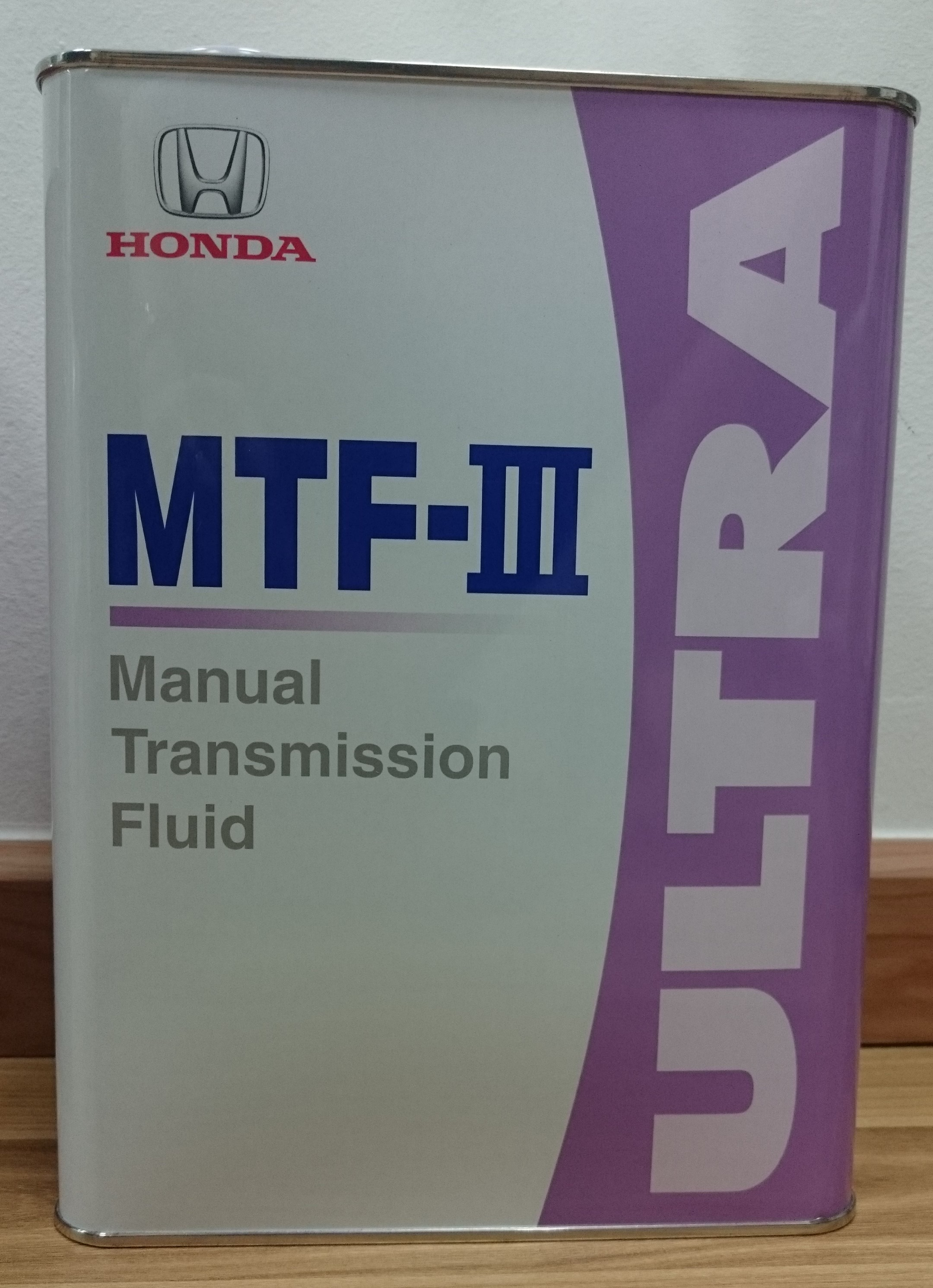 HONDA ULTRA MTF III / ULTRA MANUAL TRANSMISSION FLUID ~ 4L