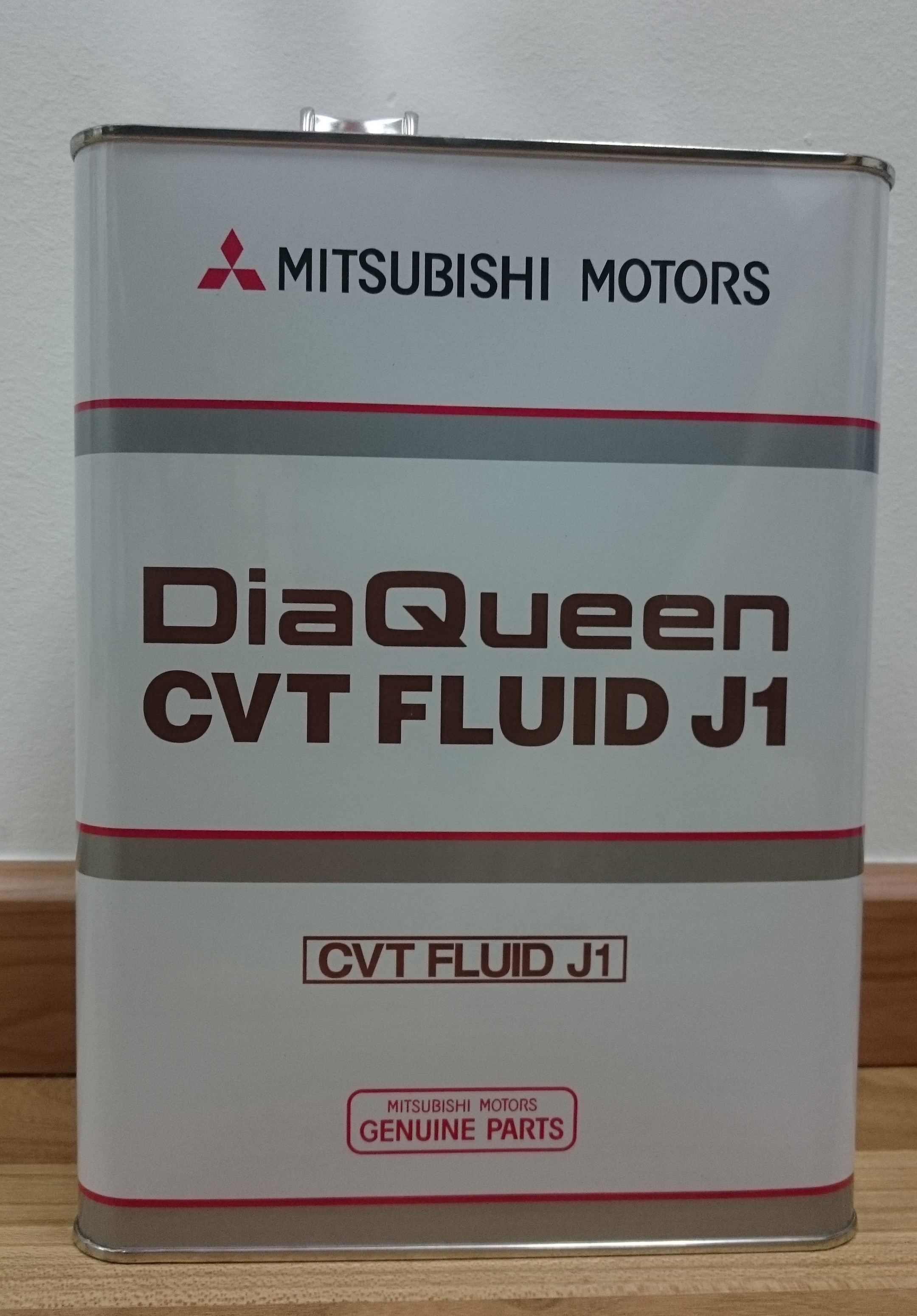 Mitsubishi motors diaqueen cvt continuous variable transmission fluid j1 4 litre pack