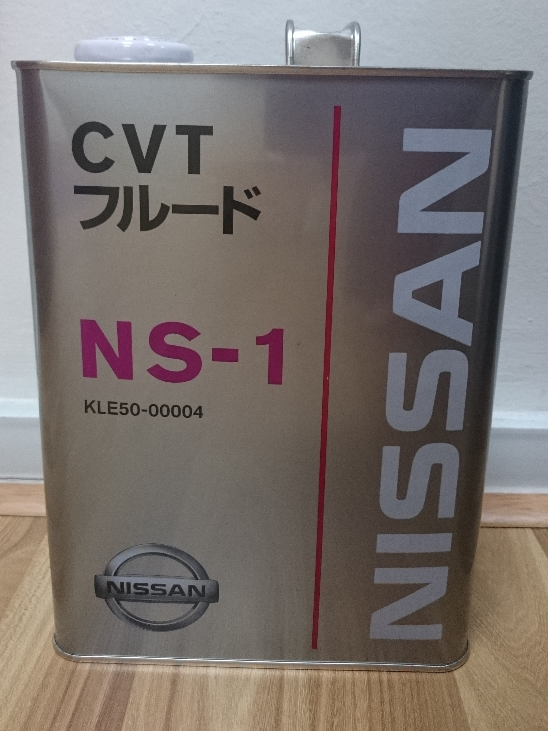 Nissan cvt fluid ns 1 continuous variable transmission fluid 4l pack kle50 00004