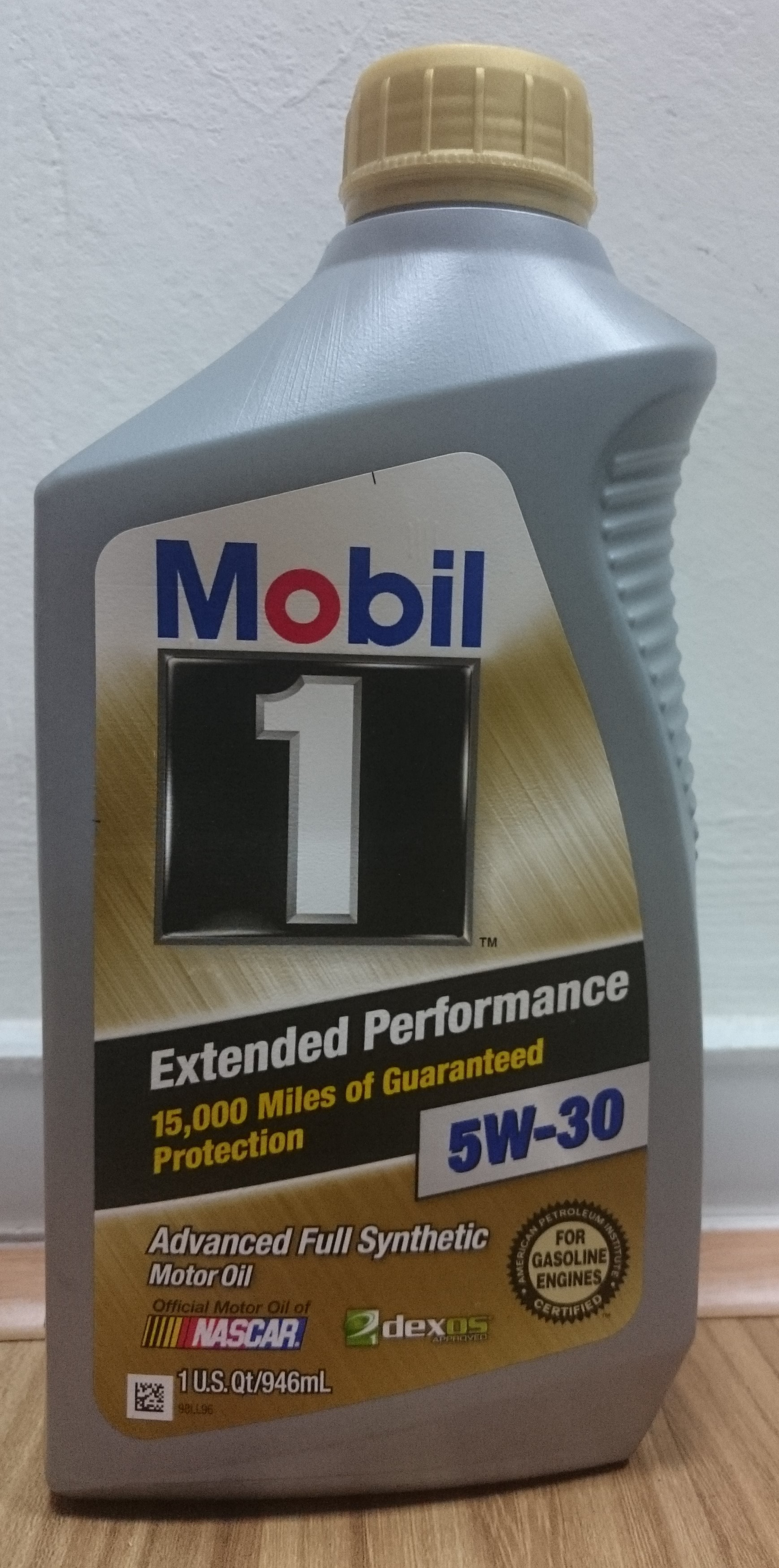 Mobil 1 5w30 extended performance advanced full synthetic for Fully synthetic motor oil