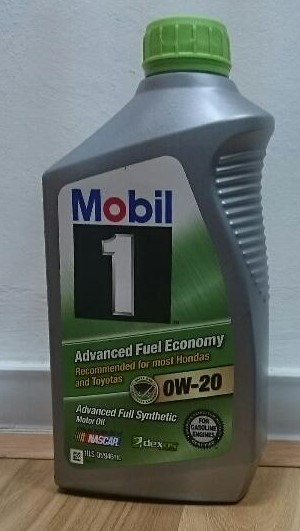Mobil 1 0w20 Advanced Full Synthetic Engine Oil 1 Us Quart