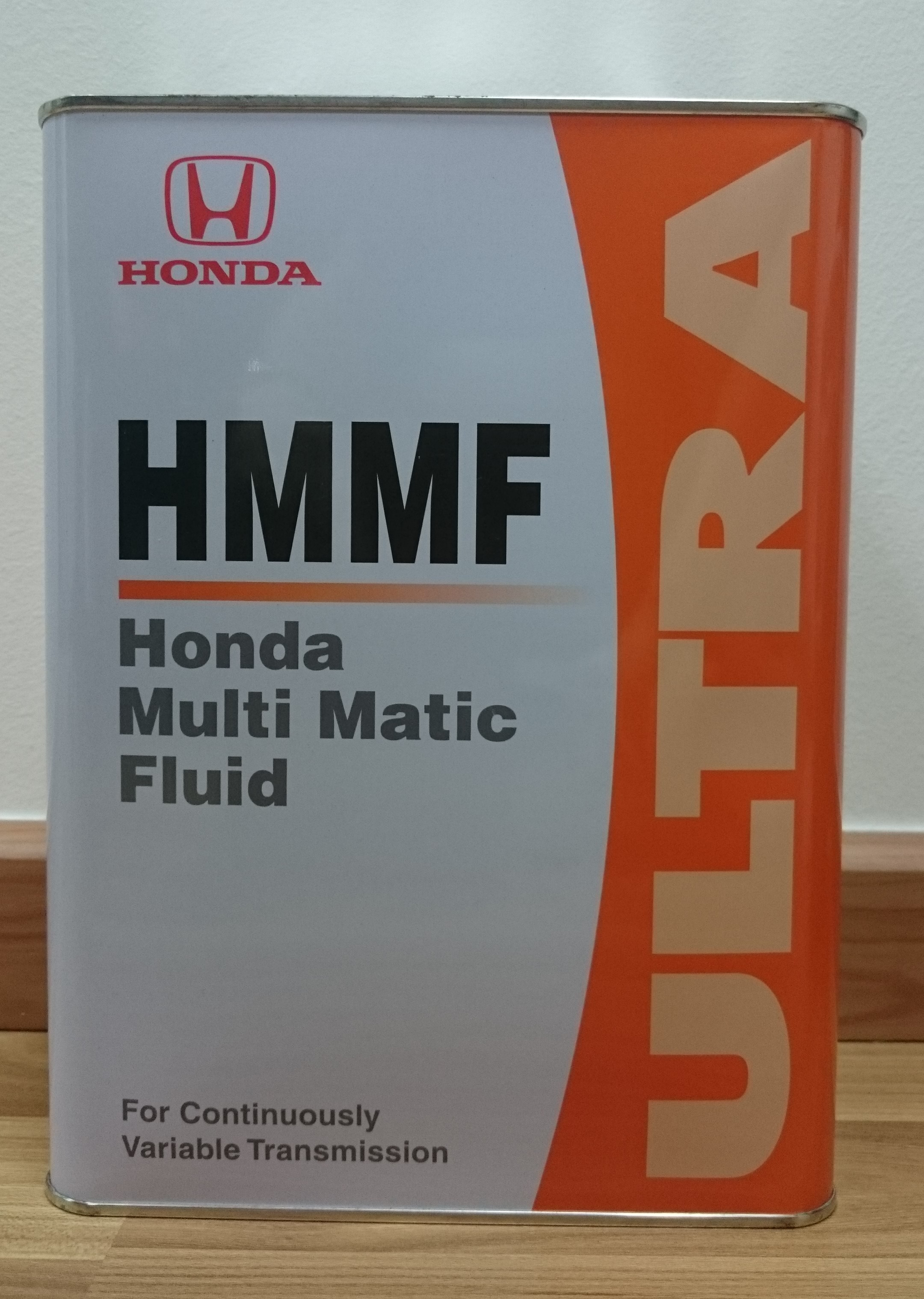 Honda Ultra Hmmf Multi Matic Fluid For Cvt Continuously Variable